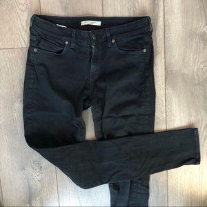 Rich & skinny black pants basic 28